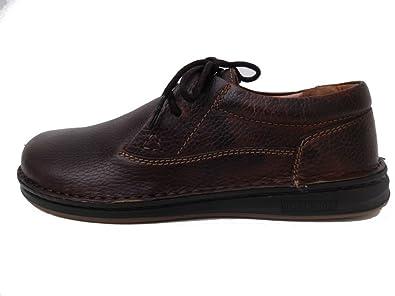 1fd4e5fd80da Amazon.com | Birkenstock Men's Memphis Dark Brown Leather Oxford | Oxfords