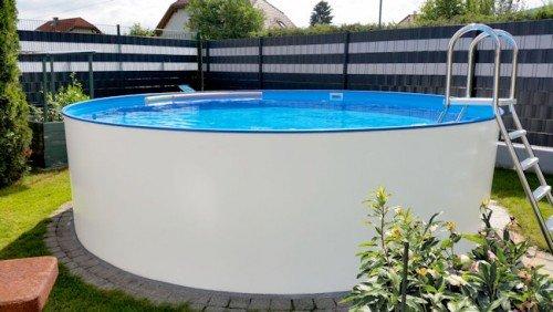 Super Stahlwandpool 3,00 x 1,20 Pool Rundpool 3 m Swimmingpool 3,0 x 1,2 JN47
