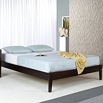 modus furniture sp23f5 nevis simple platform bed queen espresso