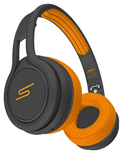 SMS Audio SMS-ONWD-SPRT-ORG STREET by 50 On-Ear Wired Sport Headphones - Orange (Sms Audio Street By 50 On Ear)