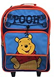 "Winnie The Pooh 15"" Large Rolling Backpack"