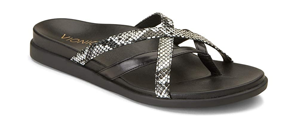 74b80cee4999 Amazon.com  Vionic Women s Palm Daisy Toe-Post Sandal - Ladies Flip-Flop  Concealed Orthotic Support  Shoes
