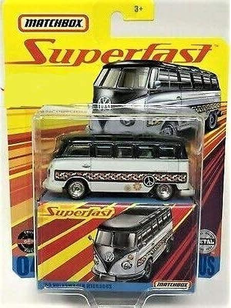Matchbox Superfast /'59 volkswagen microbus 1:64