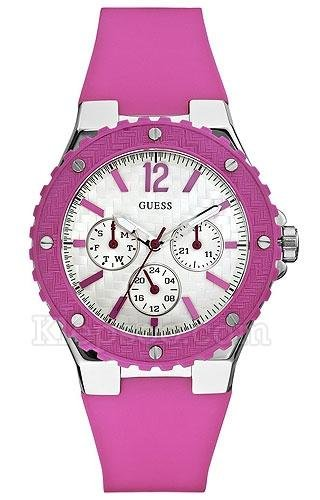 Guess W90084L2 Ladies OVERDRIVE Pink Watch