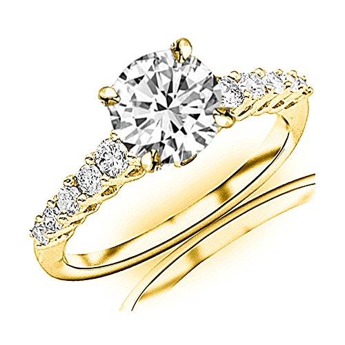 0.95 Ct Tw Round Diamonds - 4