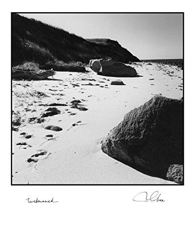 """Seaside: Tuckernuck"", Vintage Black & White seashore"