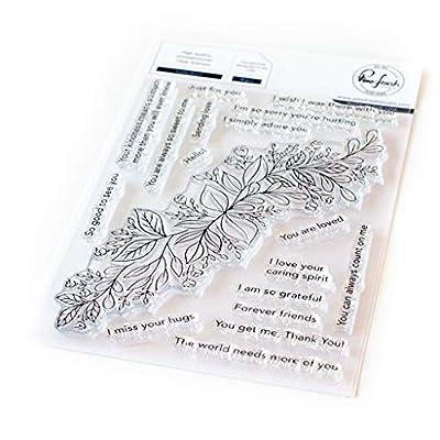 PINKFRESH STUDIO PFCS0320 PINKFRESH Stamp 4X6 DECR, Leafy Decor: Arts, Crafts & Sewing