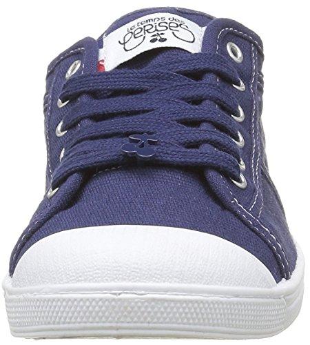 Femme Temps Le Cerises Baskets 02 indigo Bleu Basic Des wBr71q4wA