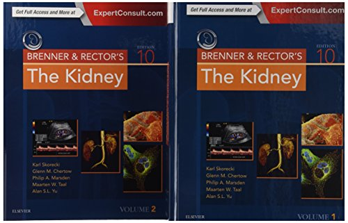 Brenner and Rector's The Kidney, (2 Volume Set), 10e