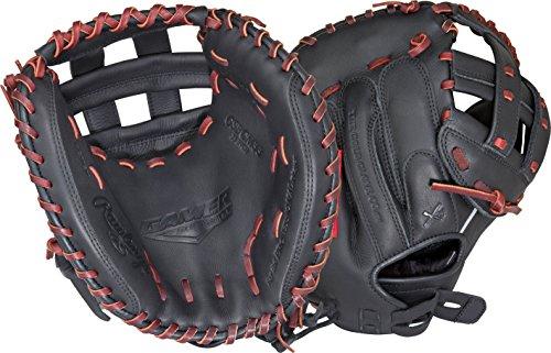 Rawlings Gamer Series Softball Catcher's Mitt, Right Hand, Modified Pro H Web, Custom Fit, 33 (Custom Catchers Mitt)
