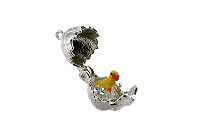 CLASSIC DESIGNS Sterling Silver 925 Opening Noah's Ark Charm Reveals The Animals N195 ov69M4