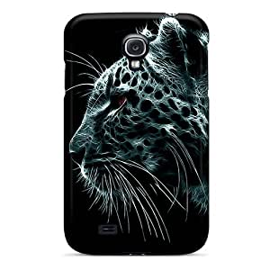 Waterdrop Snap-on White Tiger Case For Galaxy S4