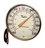 Dial Thermomtr 4.25'' Brnz