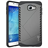 Samsung Galaxy A9 Case 2016, CoverON [Paladin Series] Slim Fit Hard Protective Modern Style Phone Case for Samsung Galaxy A9 - Gunmetal Gray & Black