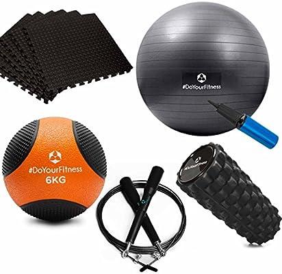 Fitness Bundle compuesta de 6 kg Balón Medicinal, moderno Fascia ...