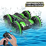 Toys for 5-10 Year Old Boys Joyfun Amphibious RC Car for Kids 2.4 GHz Remote Control Boat Waterproof...