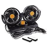 360 rv roof vent - Zento deals 12V Dual Head Car Auto Cooling Air Fan