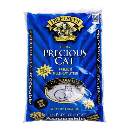 Precious Cat Ultra Premium Clumping Cat Litter- Economy Pkg 80 Pounds (3 Packs)