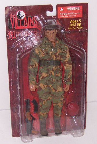 Ultimate Soldier the Villains Mercenary 12in Action Figure - 21st Century Toys Villains
