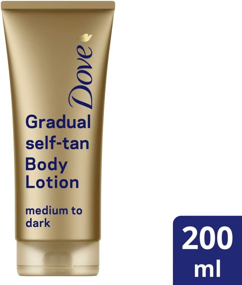 Dove Dermaspa Summer Revived Loción Autobronceadora - 200 ml