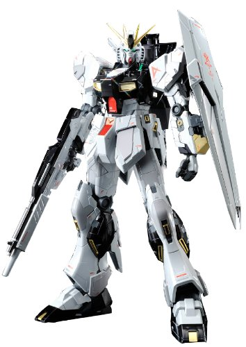 Bandai Hobby MG Nu Gundam Version Ka Titanium Finish Action - Nu Models Look