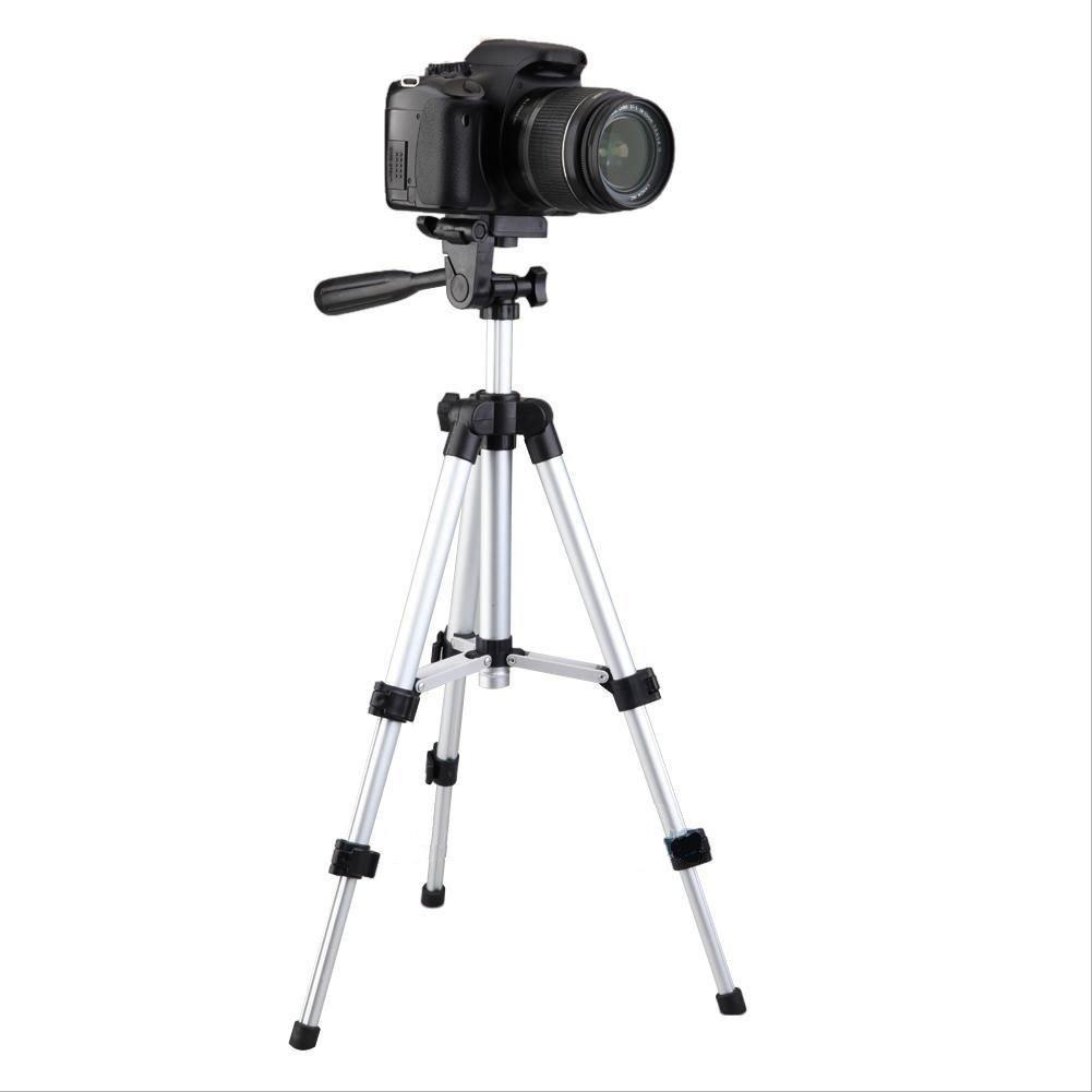 Medium Camera Tripod Mount Holder Stand for Logitech Webcam C930 C920 C615-Silver by Acetaken