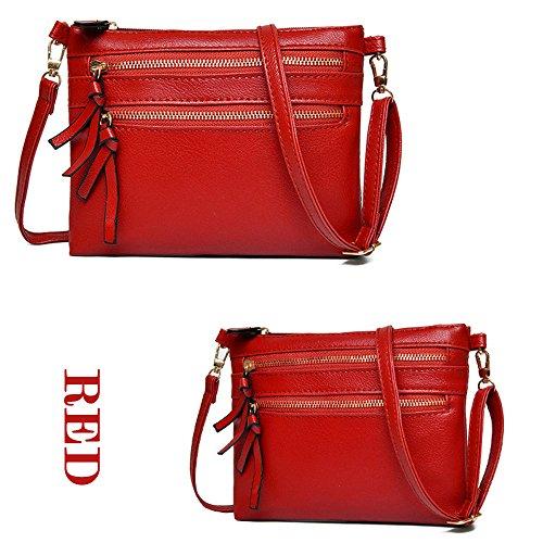 321d82f4e9 Sacs A Pour Fille Cher Guess En sacs Bandoulière Main Dodumi sacs Rouge Soldes  Femme Motif ...
