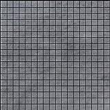 Bardiglio Gray Marble 5/8x5/8 Mosaic Tile Polished for Bathroom and Kitchen Walls Kitchen Backsplashes (Free Shipping)