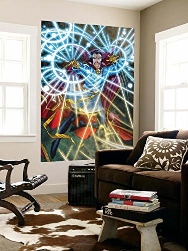 Marvel Adventures Super Heroes No5 Cover Dr Strange Wall Mural by