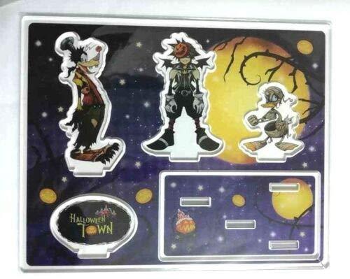 Kingdom Hearts Acrylic Stand Halloween Town Sora Donald Goofy Disney x Square