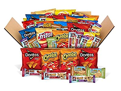 Ultimate Snack Care Package, Variety Assortment of Chips, Cookies, Crackers & More