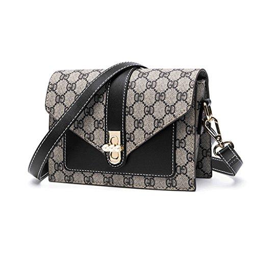 Zhyw Handbags Shoulder Messenger Bags Fashion Bags Travel Bags (color: Green) Black