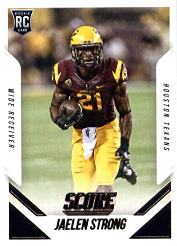 buy popular 32449 d7859 Amazon.com: 2015 Score #416 Jaelen Strong Texans NFL ...