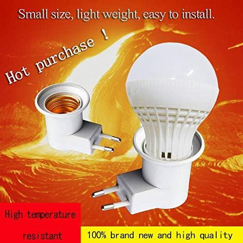 E27 Lampe Licht Steckdose E27 Sockel Lampensockel Lampensockel mit Schalter