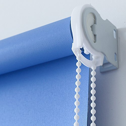 Roller And Roman Shade Blind Beaded Chain Cord White