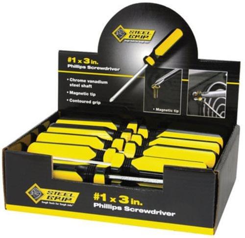 Steelgrip 2265346 Phillips Screwdriver Counter Top Display #1, 3