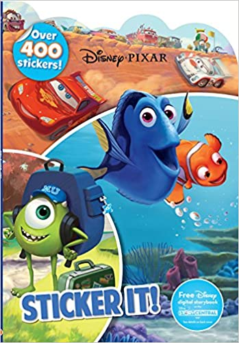 Disney Pixar Sticker It Parragon Books Ltd 9781474821223