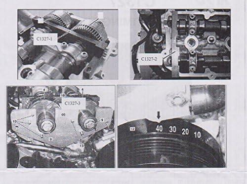 SPTTOOLS Engine Arbre /à cames vilebrequin kit de distribution Outil dalignement pour Mercedes Benz AMG 156