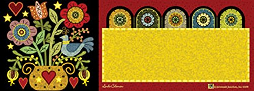 Pennyrug Hearts & Flowers Art-Snaps!® Magnetic Mailbox Art