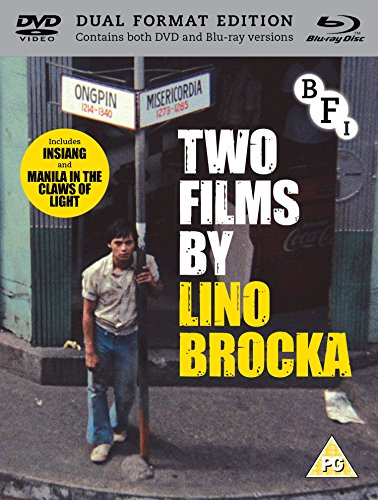 Two Films by Lino Brocka (Blu-ray + DVD) [UK import, region 2/B PAL format] by