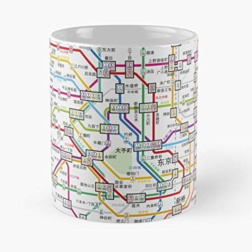 City Subway Street Train - 11 Ounce For Coffee, Tea, Cocoa And Mulled Drinks, The Best Gift Holidays. ()