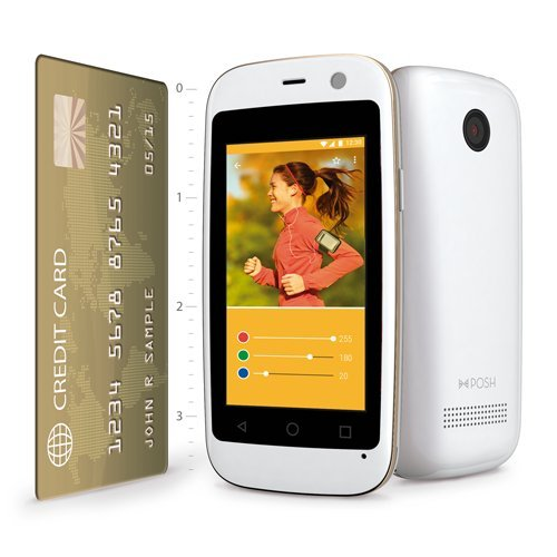 POSH MOBILE MICRO X, The Smallest Smartphone in the World, ANDROID UNLOCKED 2.4