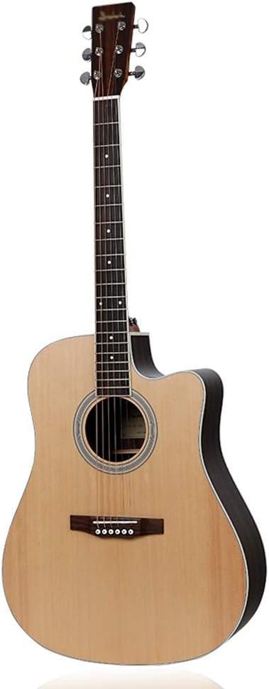 Loivrn Guitarra acústica popular clásica Chapa Instrumento de ...