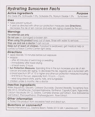 Pevonia Hydrating Sunscreen SPF 30, 5 Oz