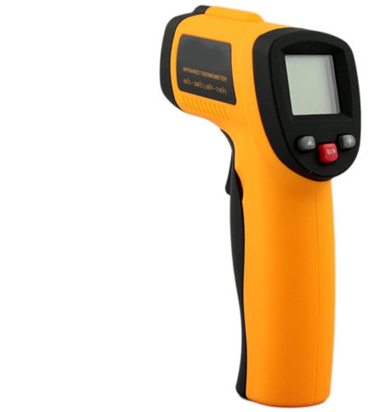 Heaven Tvcz Digital Temperature Gun Non-Contact Infrared IR Laser Thermometer -58~1022 °F Meter Cooking LCD