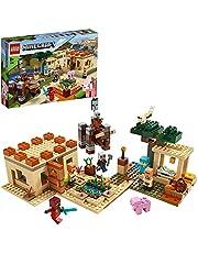 LEGO 21160 Minecraft Illagers anfaller, Byggsats med Ravager och Kai, Barnleksaker med Aktionfigurer