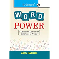 Word Power: A Quick and Convenient Reference of Words