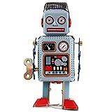 Retro Metal Wind Up Robot Mech