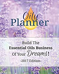 Oily Planner - 2017 Edition by Natalie Marie Collins (2016-10-18)