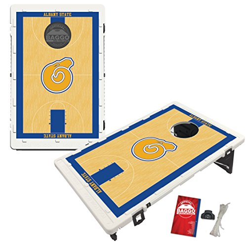 Albany State Golden Rams Baggo Bean Bag Toss Cornhole Game Homecourt Design by Victory Tailgate